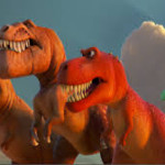"""Some Hungry T-Rexes In Pixar's """"The Good Dinosaur"""""""