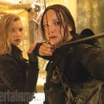"Jennifer Lawrence as Katniss Everdeen in ""The Hunger Games: Mockingjay Part 2"""