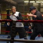 """Sylvester Stallone and Michael B. Jordan in """"Creed"""""""